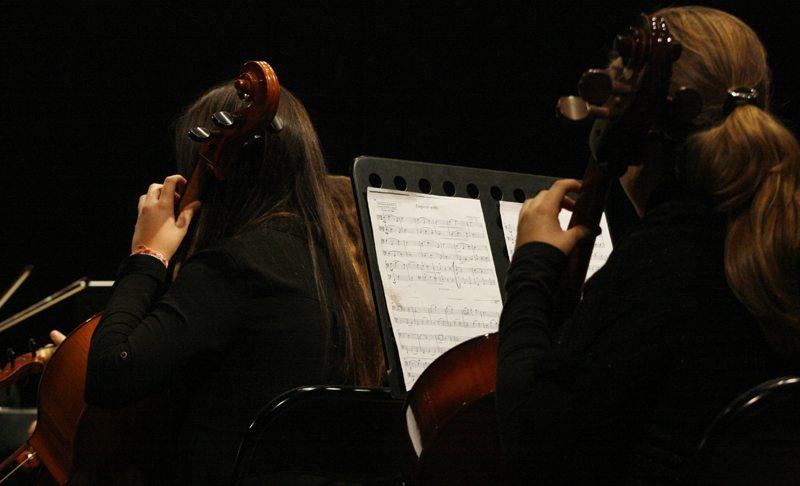 Alumnos de la Escuela de Música de la CAM Bétera