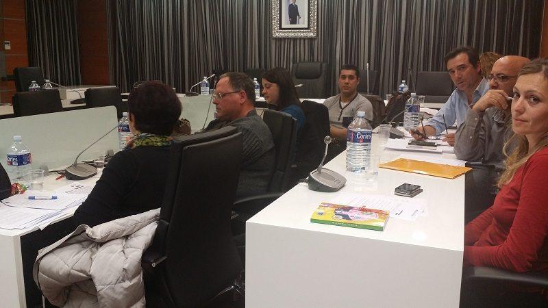 Los concejales de la oposición durante el pleno