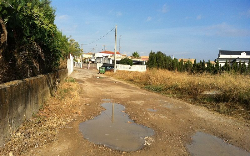 Calle Baix Maestrat en Lloma del Mas