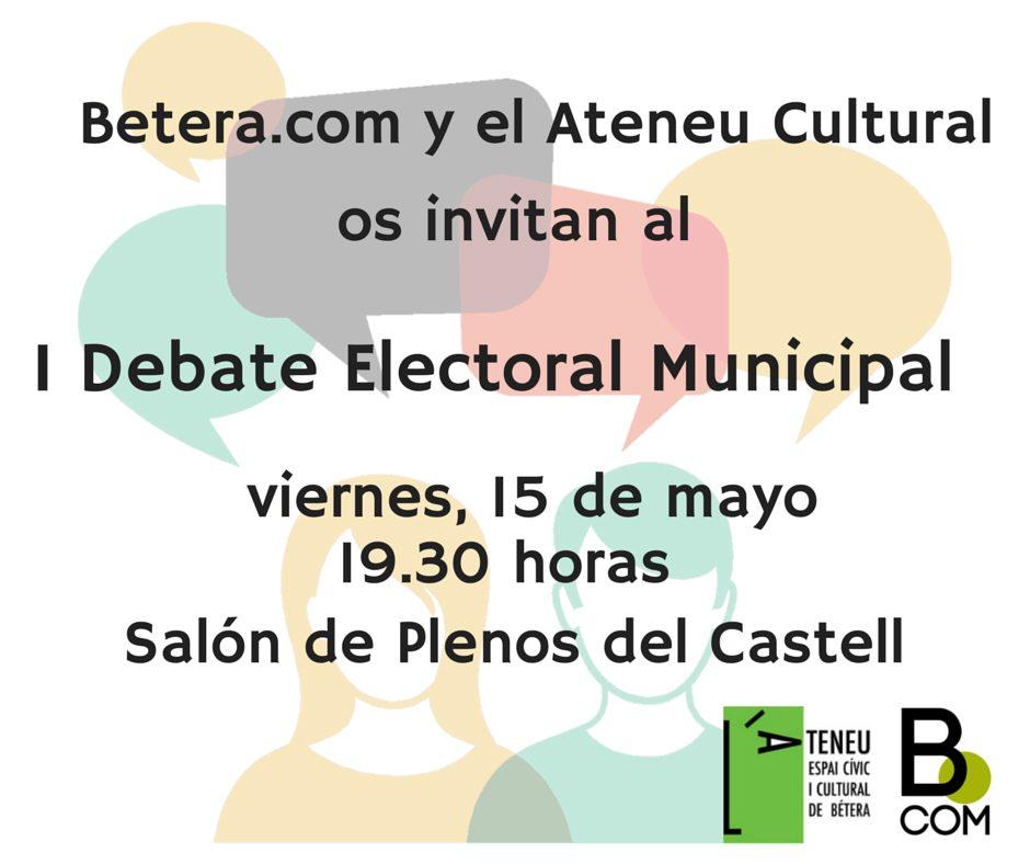 Debate electora (1)