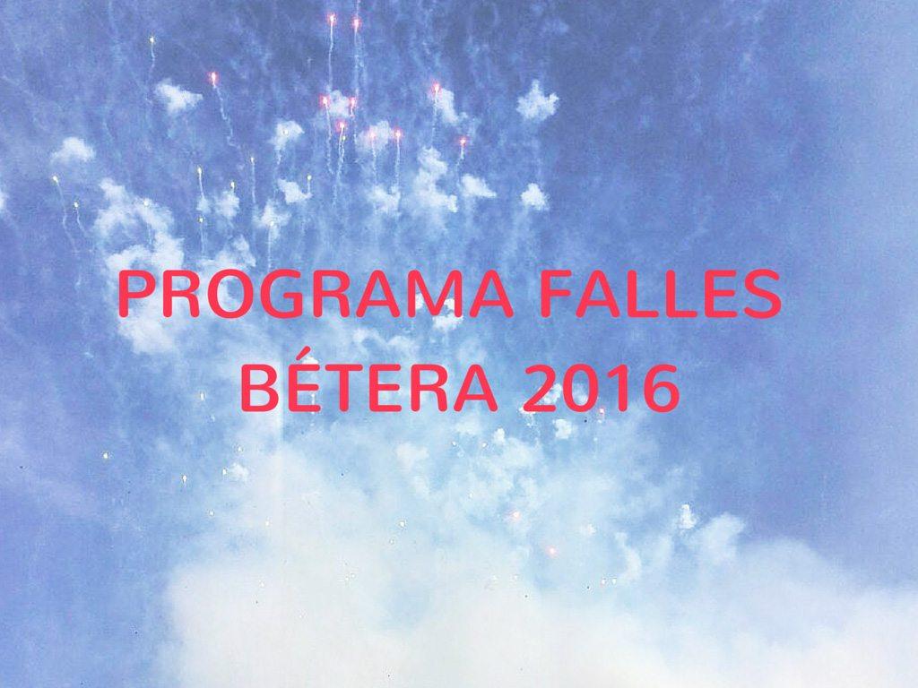 PROGRAMA FALLES BÉTERA 2016