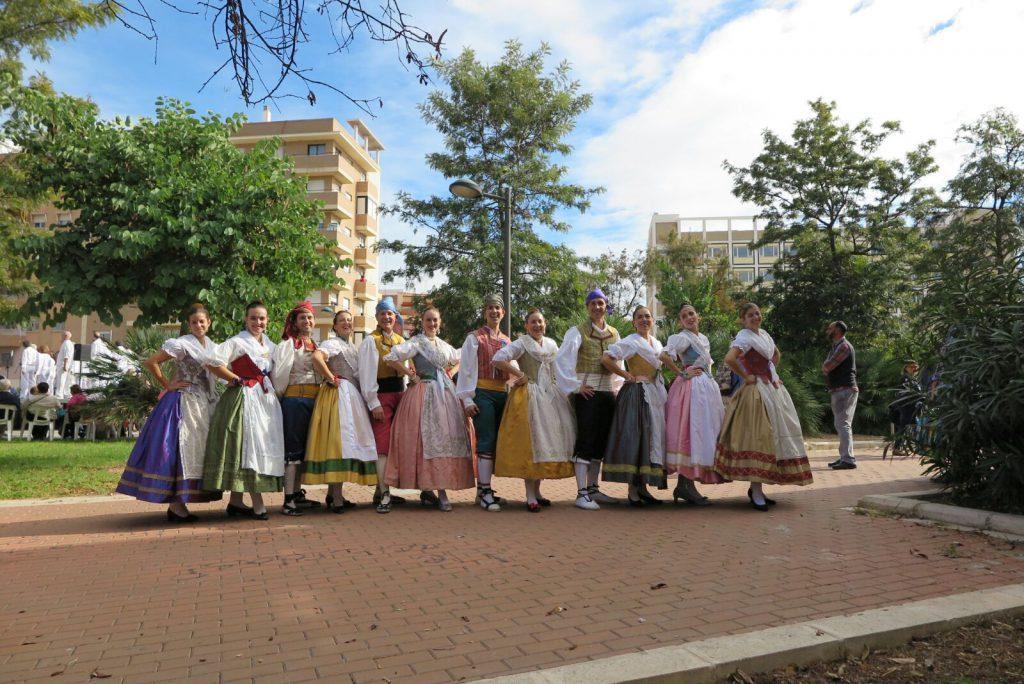 Un dels grups participants en la passada edició de la Trobada de Folklore