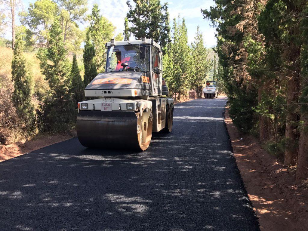 Foto asfaltado CV-331