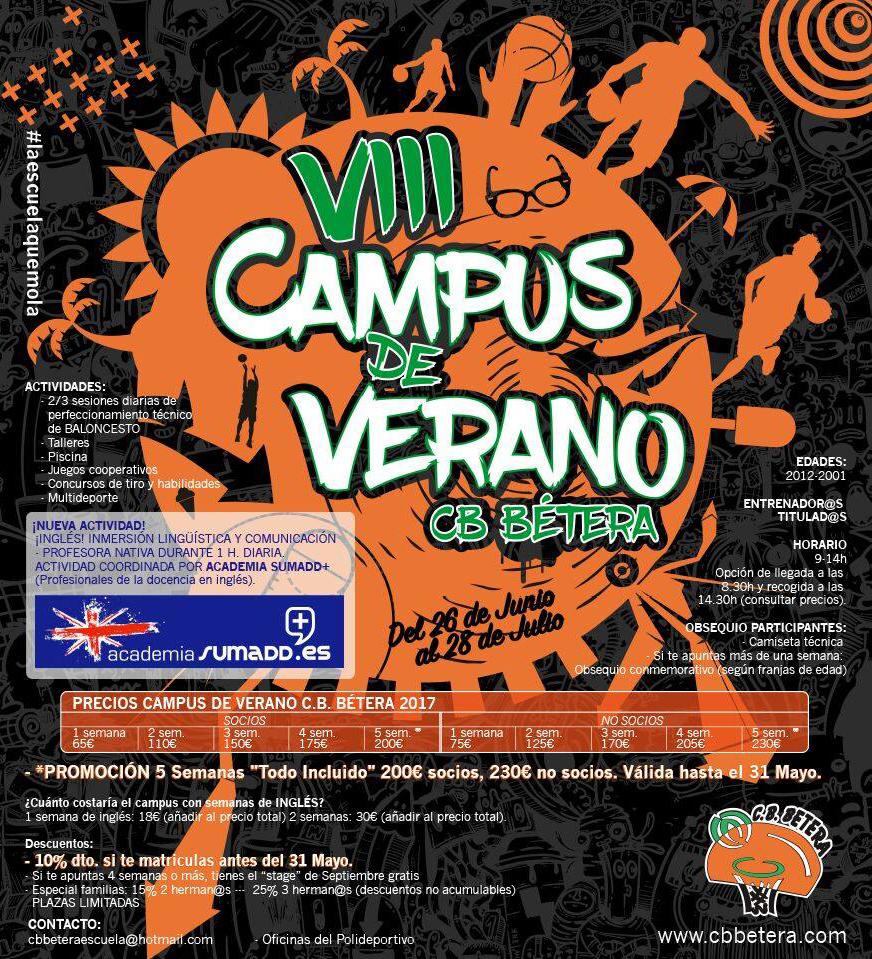 campus verano cb betera