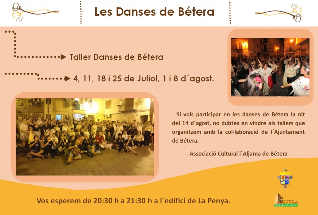 Danses de Bétera 2017