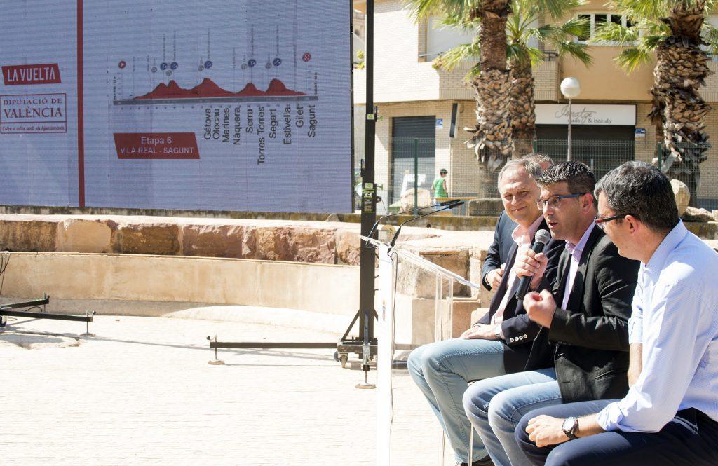 Presentación Vuelta Ciclista España en lliria foto_Abulaila (7)
